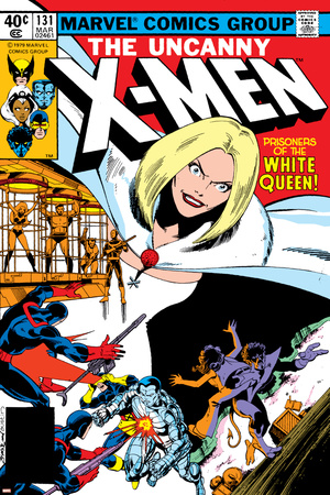 Uncanny X-Men No.131 Cover: White Queen, Colossus and Nightcrawler Posters by John Byrne