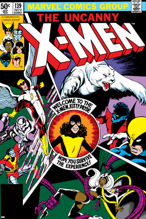 Uncanny X-Men No.139 Cover: Shadowcat, Storm, Angel, Colossus, Nightcrawler, Wolverine and X-Men Posters by John Byrne