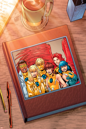 New X-Men: Academy X Yearbook Cover: Prodigy Posters by Aaron Lopresti