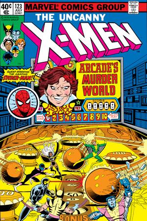 Uncanny X-Men No.123 Cover: Arcade Prints by John Byrne