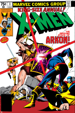 X-Men Annual No.3 Cover: Cyclops, Arkon and X-Men Poster by Frank Miller