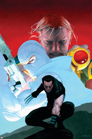 Dark Reign: The List - Wolverine No.1 Cover: Wolverine and Fantomex Posters by Esad Ribic