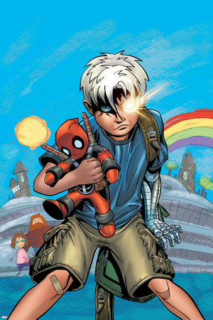Cable/Deadpool No.18 Cover: Cable Print by Patrick Zircher