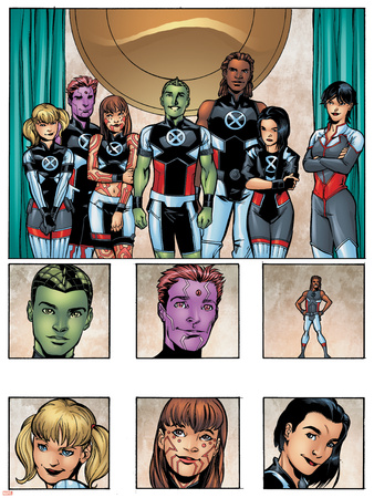 New X-Men: Academy X Yearbook Group: Anole Posters by Georges Jeanty