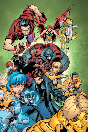 New X-Men No.15 Group: Surge Prints by Paco Medina