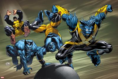 X-Men Evolutions No.1: Beast Prints by Lee Weeks