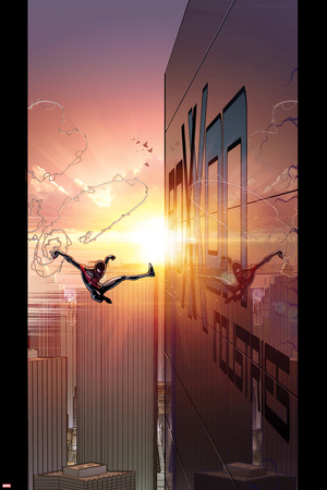 Ultimate Comics Spider-Man 27 Cover: Spider-Man Posters by David Marquez