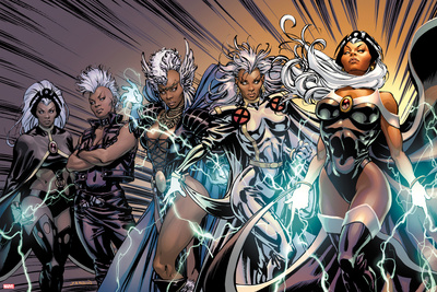 X-Men Evolutions No.1: Storm Prints by David Yardin