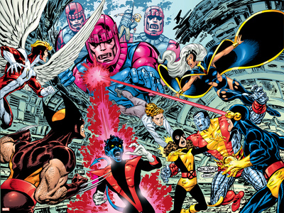 X-Men : Days Of Future Past Wrap Cover Cover: Wolverine Print by John Byrne
