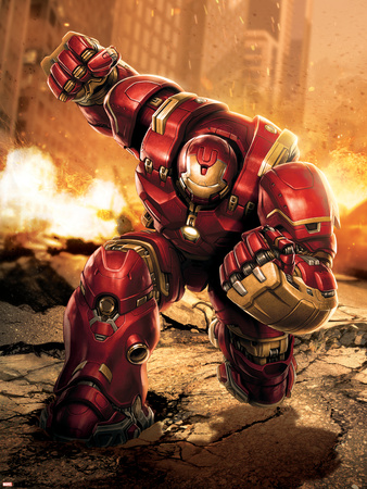 The Avengers: Age of Ultron - Hulkbuster Posters