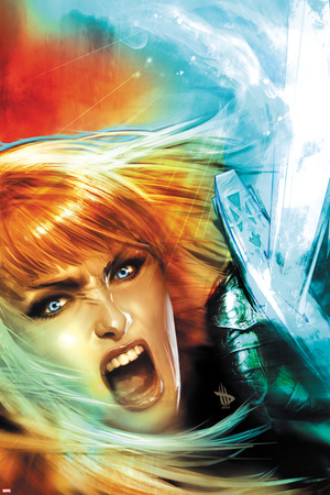 New Mutants No.17 Cover: Magik Screaming Posters by Dave Wilkins