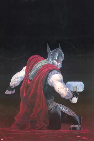 Thor: God of Thunder 7 Cover: Thor Photo by Esad Ribic