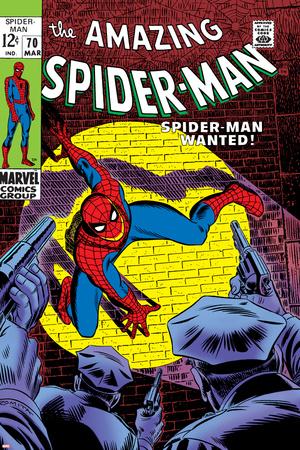 Marvel Comics Retro: The Amazing Spider-Man Comic Book Cover No.70, Wanted! Prints