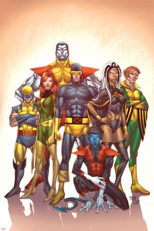 Uncanny X-Men: First Class No.1 Cover: Cyclops and X-Men