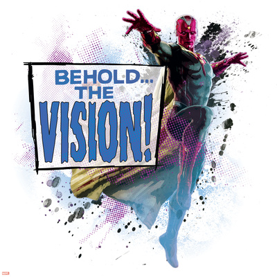 The Avengers: Age of Ultron - Behold the Vision! Poster