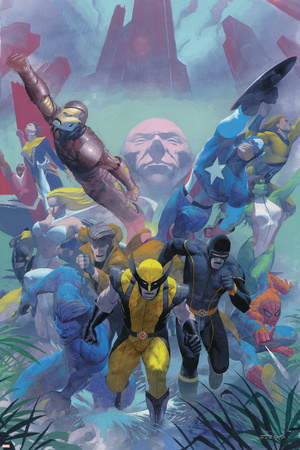 Secrets Of The House Of M Cover: Wolverine Poster by Esad Ribic