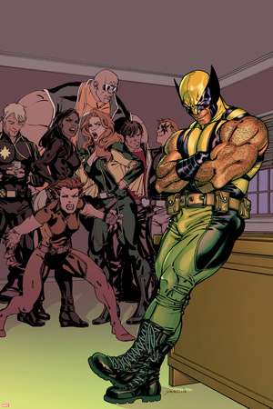 X-Factor No.230 Cover: Wolverine, Wolfsbane, Longshot, Siryn, Rictor, Shatterstar, M, Strong Guy Posters by David Yardin