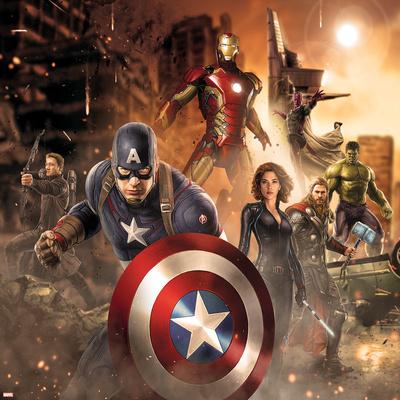 The Avengers: Age of Ultron - Thor, Hulk, Captain America, Hawkeye, Vision, Black Widow, Iron Man Prints