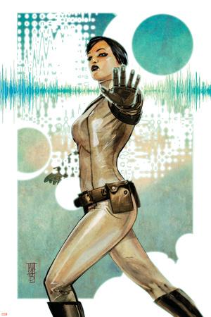 Secret Avengers 9 Cover: Quake Prints by Alex Maleev
