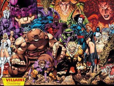 X-Men No.1: 20th Anniversary Edition: A Villains Gallery Póster