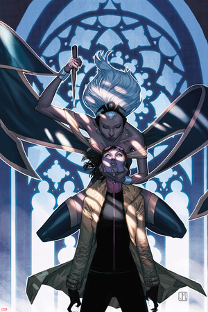 X-Men No.25 Cover: Storm and Jubilee Posters by Jorge Molina