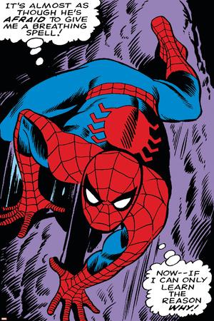 Marvel Comics Retro: The Amazing Spider-Man Comic Panel, Crawling Prints