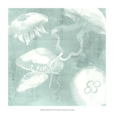 Spa Jellyfish VII Giclee Print by Grace Popp