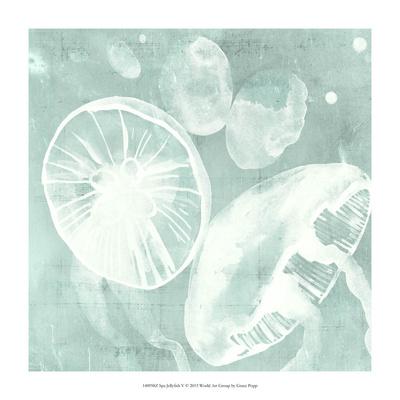 Spa Jellyfish V Giclee Print by Grace Popp
