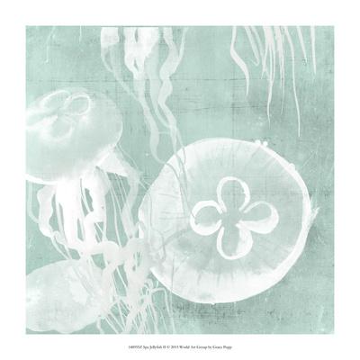 Spa Jellyfish II Giclee Print by Grace Popp
