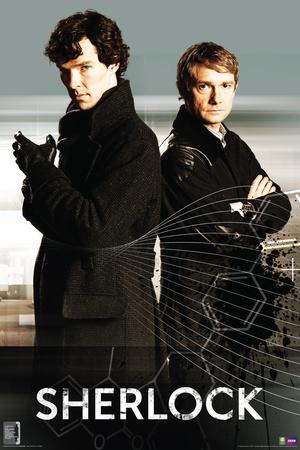 Sherlock- Sherlock And Watson Print