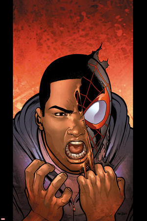 Ultimate Comics Spider-Man 25 Cover: Spider-Man Posters by David Marquez