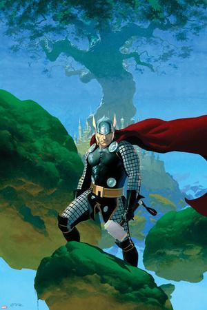 Astonishing Thor No.1 Cover: Thor Standing Prints by Esad Ribic