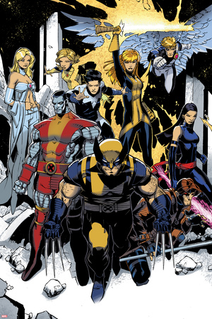 X-Men: Curse of The Mutants - Storm & Gambit No.1: Wolverine, Colossus, Magik, Psylocke, Northstar Prints by Chris Bachalo