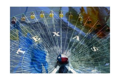 Texas Ferris Wheel Prints by Sisa Jasper