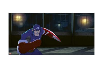 Avengers Assemble Animation Still Photo