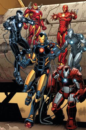 Iron Man 15 Featuring Iron Man Posters by Carlo Pagulayan