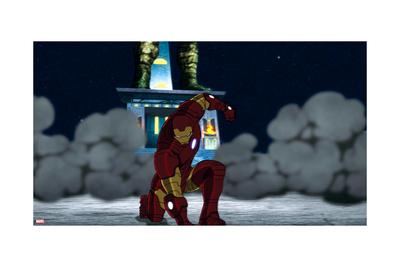 Avengers Assemble Animation Still Prints