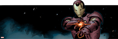 Avengers Assemble Panel Featuring Iron Man Prints