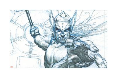 Avengers Assemble Pencils Featuring Thor Prints
