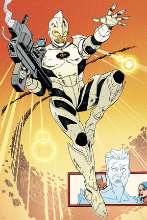 Cataclysm: Ultimate X-Men 1 Featuring Jones, Rick, Captain Marvel, Iceman Prints by Alvaro Martinez
