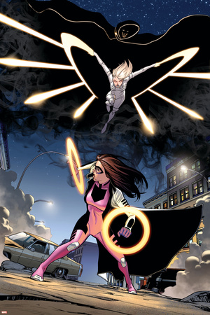 Ultimate Comics Spider-Man 23 Featuring Cloak, Dagger, Bombshell Prints by David Marquez