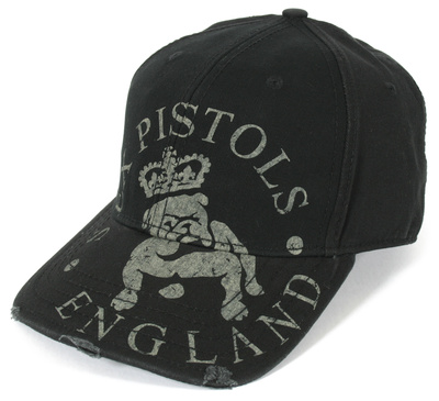 Sex Pistols- Bulldog England Snapback Čepice