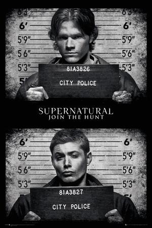Supernatural- Mug Shots Print