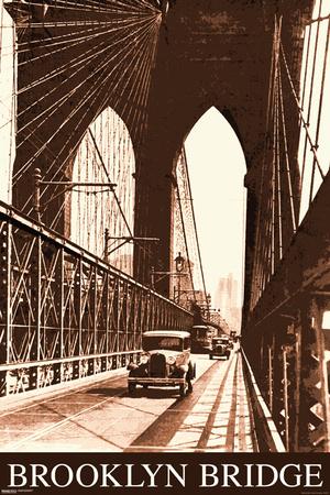 Brooklyn Bridge- Vintage Posters