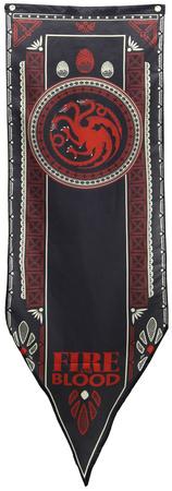 Game Of Thrones- House Targaryen Tournament Banner Poster
