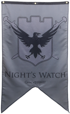 Game Of Thrones- Night's Watch Banner Prints