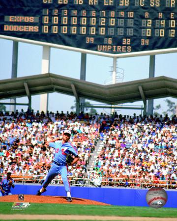 Dennis Martinez 1991 Perfect Game Photo