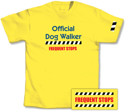 Official Dog Walker T-Shirt!