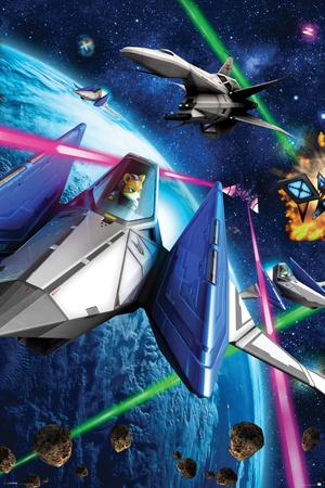 Star Fox 64- Space Battle Prints