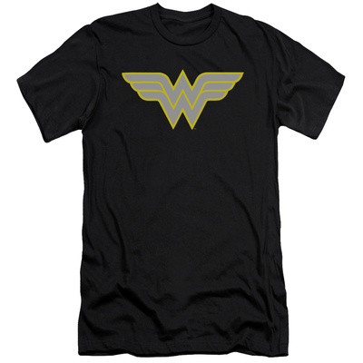 Wonder Woman- Logo (Slim Fit) T-Shirt
